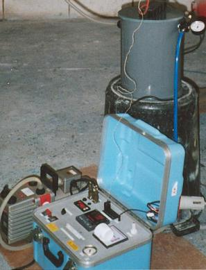 Osmosis repair-the extraction of ingressed moisture using JRTL equipment